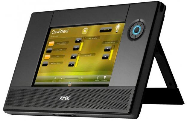 Centrální systém AMX - dotykový panel